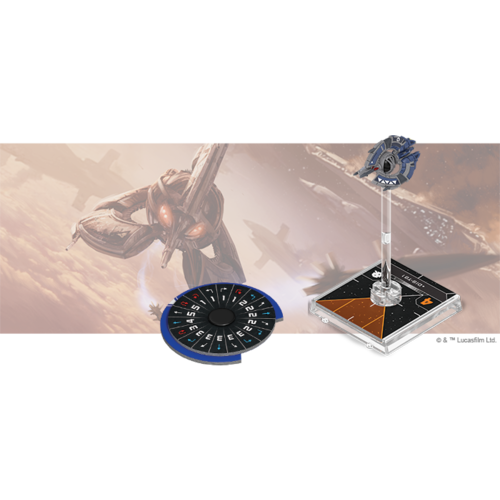 Fantasy Flight Star Wars X-Wing 2.0 - Droid Tri-Fighter