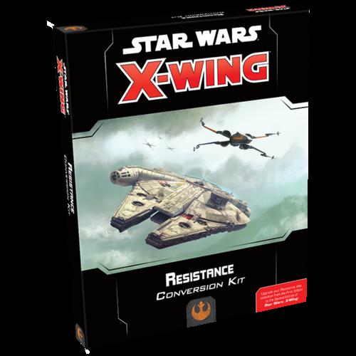 Fantasy Flight Star Wars X-Wing 2.0- Resistance Conversion Kit