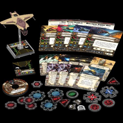 Fantasy Flight Star Wars X-Wing M12-L Kimogila exp.