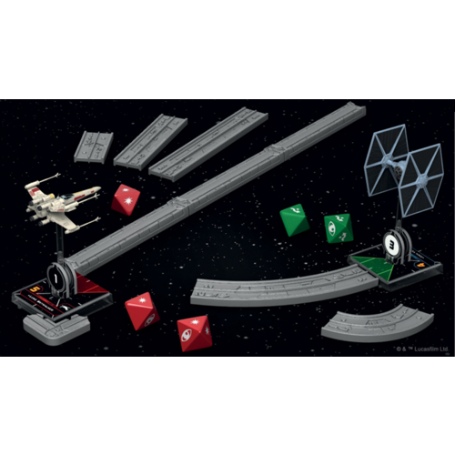 Fantasy Flight Star Wars X-Wing 2.0- Deluxe Tools and Range