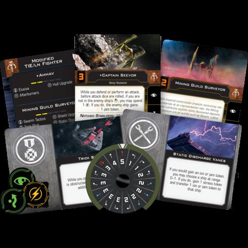 Fantasy Flight Star Wars X-Wing 2.0- Mining Guide TIE
