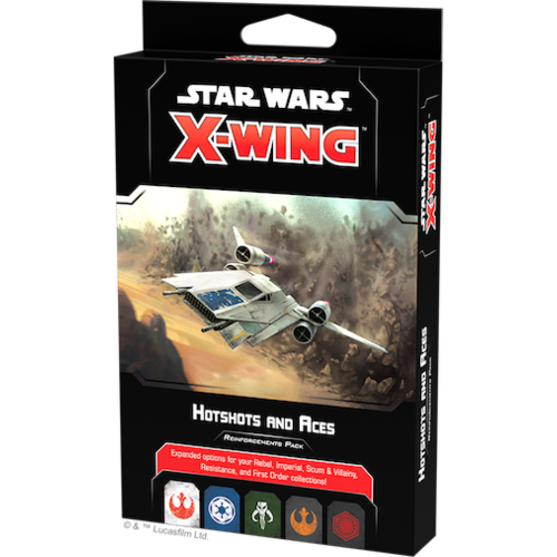 Fantasy Flight Star Wars X-Wing 2.0 Hotshots and Aces