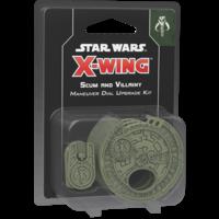 Star Wars X-wing 2.0 Scum Villainy Maneuver Dial