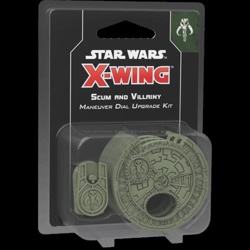Fantasy Flight Star Wars X-wing 2.0 Scum Villainy Maneuver Dial