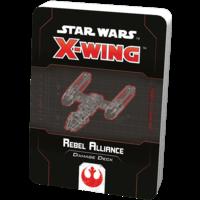Star Wars X-wing 2.0 Rebel Alliance Damage Deck