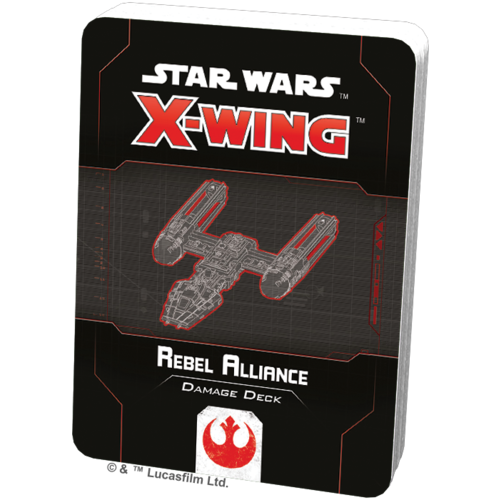 Fantasy Flight Star Wars X-wing 2.0 Rebel Alliance Damage Deck