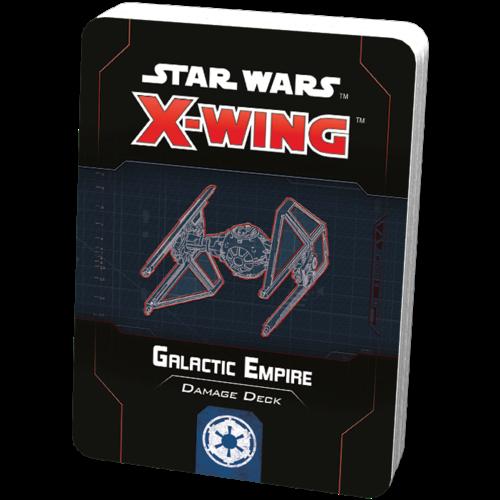 Fantasy Flight Star Wars X-wing 2.0 Galactic Empire Damage Deck