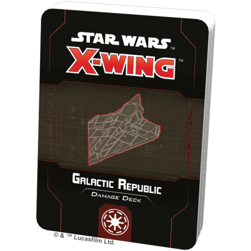 Fantasy Flight Star Wars X-wing 2.0 Galactic Republic Damage Deck