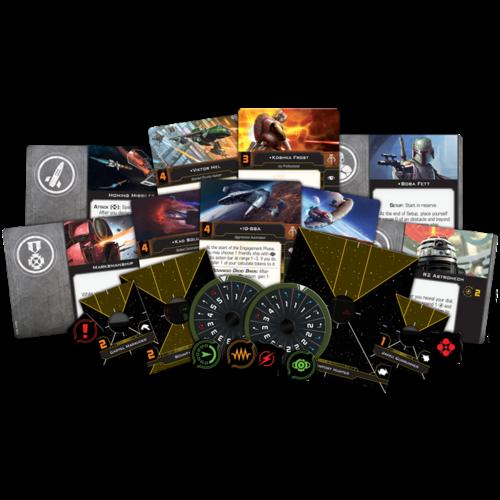 Fantasy Flight Star Wars X-wing 2.0 Scum & Villainy Conversion Kit