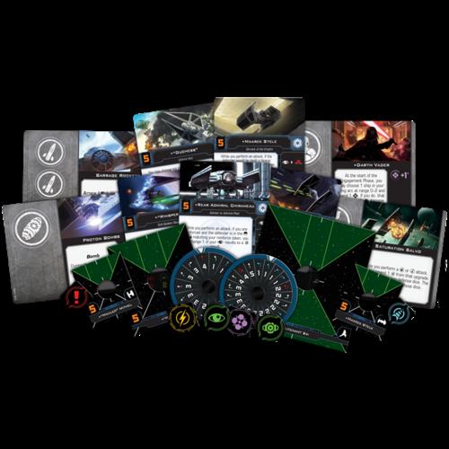 Fantasy Flight Star Wars X-wing 2.0 Galactic Empire Conversion Kit
