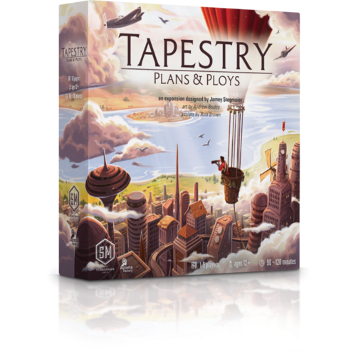 Stonemaier Tapestry - Plans & Ploys expansion