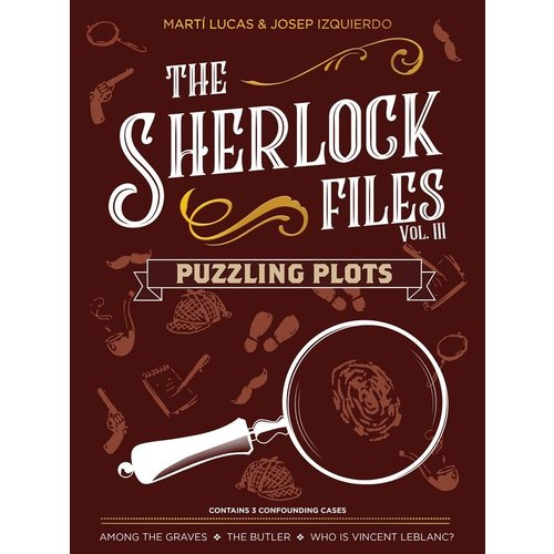 Indie Board and Cards The Sherlock Files Vol. 3 - Puzzling Plots