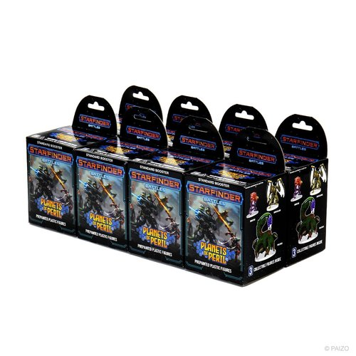 Wizk!ds Starfinder Battles- Planets of Peril miniatures booster