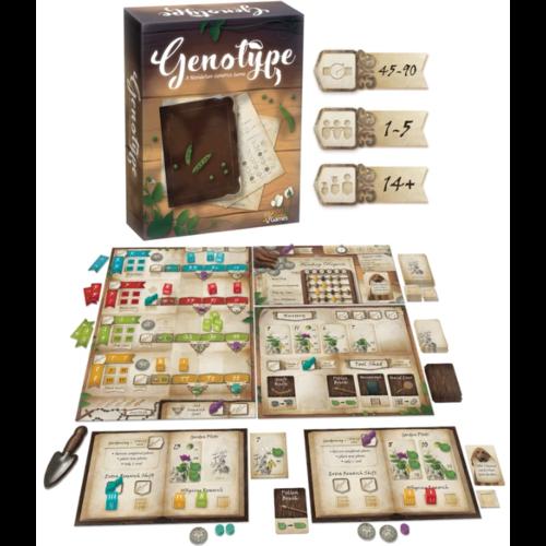 Genius Games Genotype- A Mendelian Genetics Game