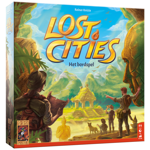 999 Games Lost Cities- Het Bordspel