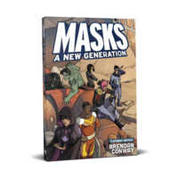Masks- A New Generation RPG Core Rulebook (Softcover)