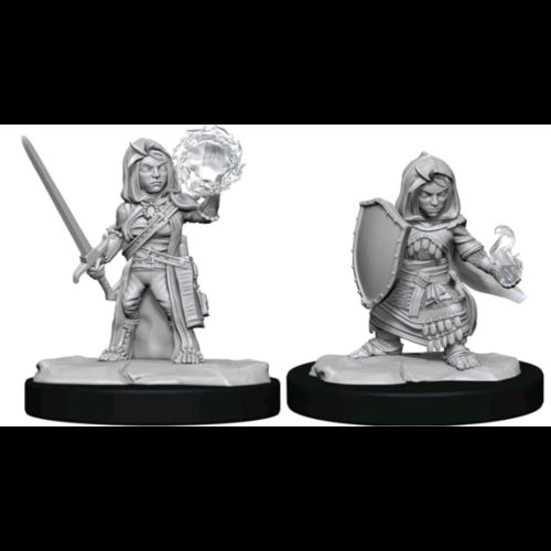 Wizk!ds Pathfinder Deepcuts - Halfling Cleric Female