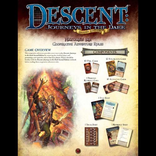 Fantasy Flight Descent 2nd Edition - Nature's Ire