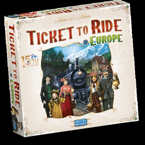 Days of Wonder Ticket to Ride NL- Europe 15th Anniversary