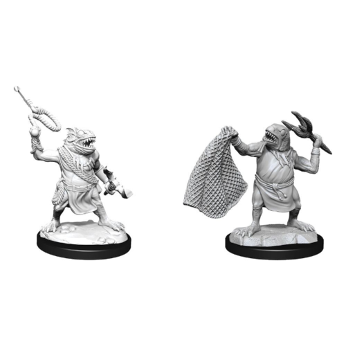 Wizk!ds D&D Nolzur's Marvelous Miniatures - Kuo-Toa & Kuo-Toa Whip