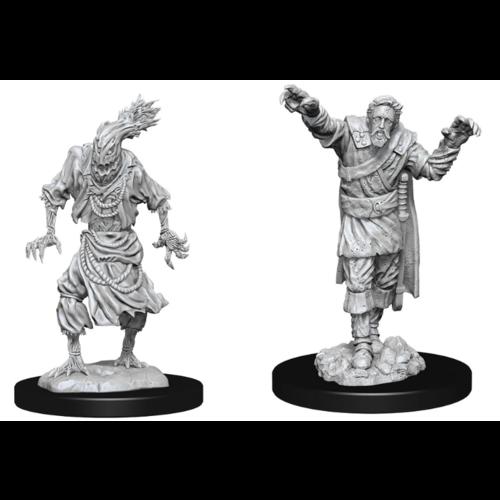 Wizk!ds D&D Nolzur's Marvelous Miniatures - Scarecrow & Stone Cursed