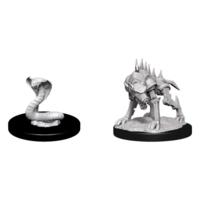 D&D Nolzur's Marvelous Miniatures - Iron Cobra & iron Defender