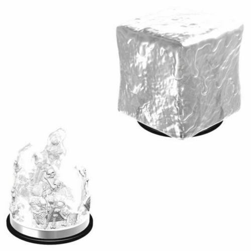 Wizk!ds Unpainted Miniatures- Gelatinous Cube