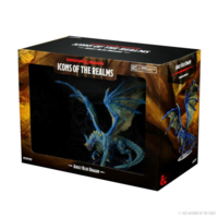 D&D Icons of the Realm- Adult Blue Dragon Premium Figure (painted)