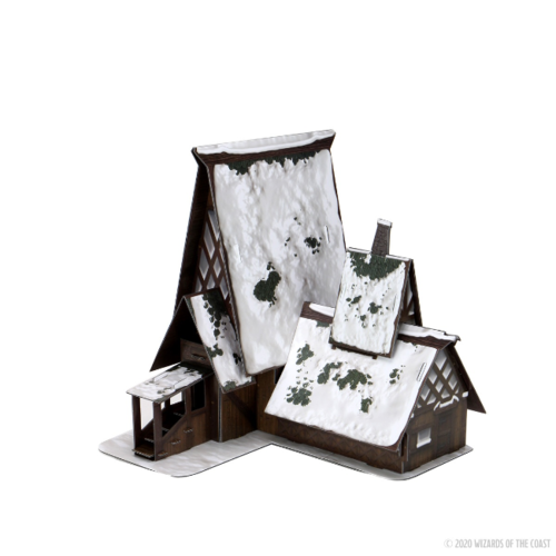 Wizk!ds Icewind Dale- The Lodge Papercraft