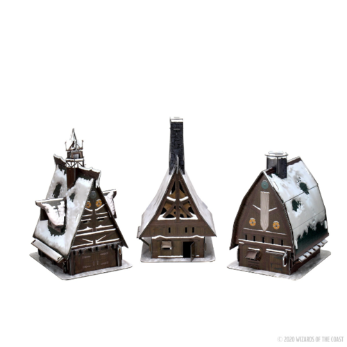 Wizk!ds Icewind Dale- Ten Towns Papercraft