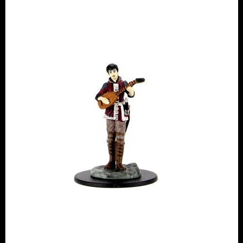 Wizk!ds Painted Miniatures- Female Half-Elf Bard (5E)