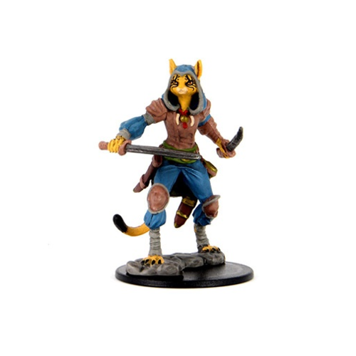 Wizk!ds Painted Miniatures- Female Tabaxi Rogue (5E)