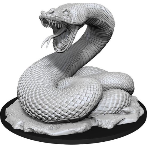 Wizk!ds Unpainted Miniatures- Giant Constrictor Snake