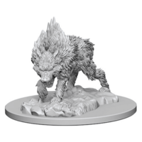 Unpainted Miniatures- Dire Wolf
