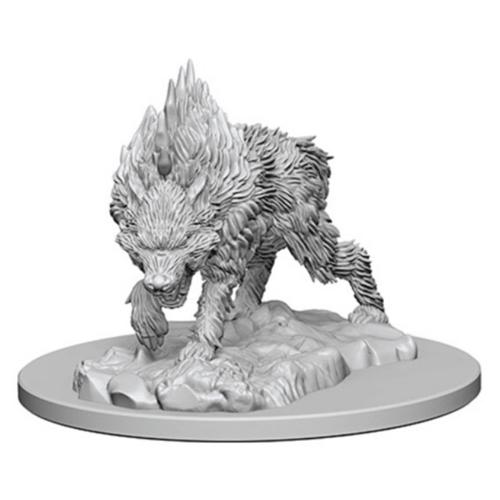 Wizk!ds Unpainted Miniatures- Dire Wolf