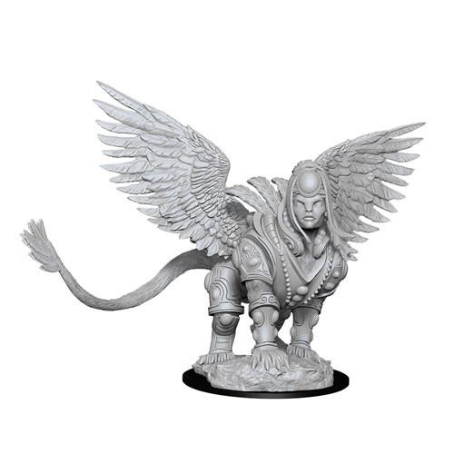 Wizk!ds Unpainted Miniatures- Isperia, Law Incarnate, Sphinx (MTG)