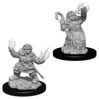 Unpainted Miniatures- Dwarf Female Summoner