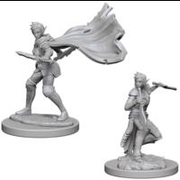 Unpainted Miniatures- Elf Female Rogue