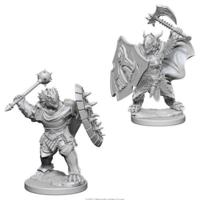 Unpainted Miniatures- Dragonborn Male Paladin (WZK73200)