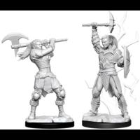Unpainted Miniatures - Goliath Female Barbarian (5E)