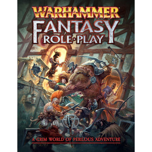 - Warhammer Fantasy Roleplay 4th Edition Rulebook