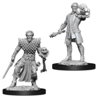 Unpainted Miniatures - Human Male Warlock
