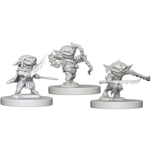 Wizk!ds Unpainted Miniatures- Goblins (Pathfinder)