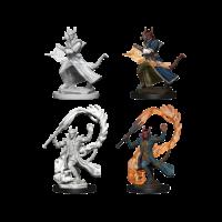 Unpainted Miniatures- Tiefling Male Sorcerer (5E)