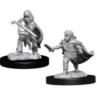 Unpainted Miniatures- Halfling Male Rogue (5E)