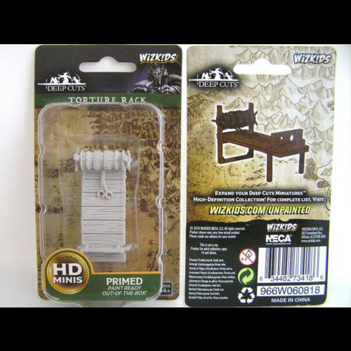 Wizk!ds Unpainted Miniatures- Torture Rack (PF)
