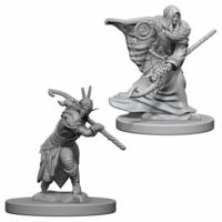 Unpainted Miniatures- Elf Male Druid (5E)
