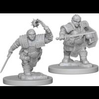 Unpainted Miniatures- Dwarf Female Fighter (5E)