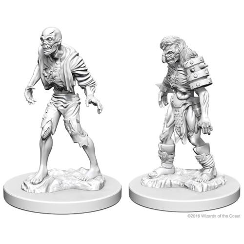 Wizk!ds Unpainted Miniatures- Zombies (5E)
