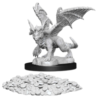 Unpainted Miniatures - Blue Dragon Wyrmling